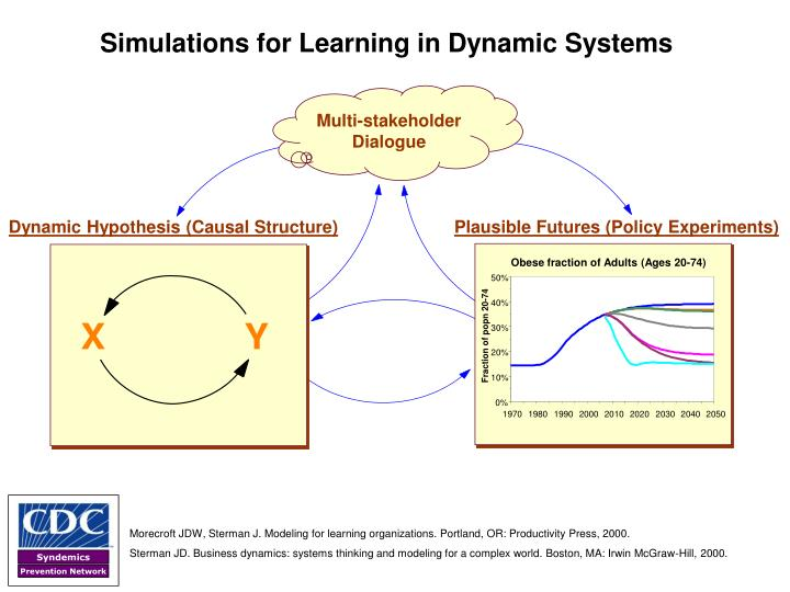 Simulations for Learning in Dynamic Systems