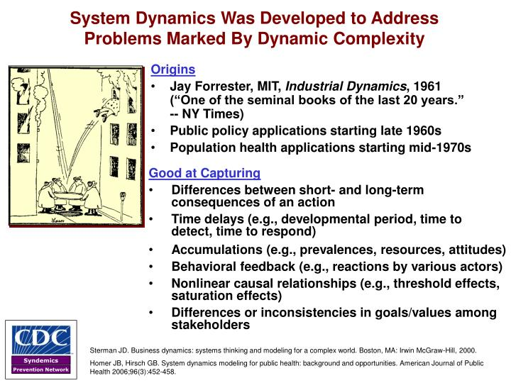 System Dynamics Was Developed to Address
