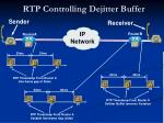 rtp controlling dejitter buffer