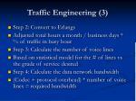 traffic engineering 3