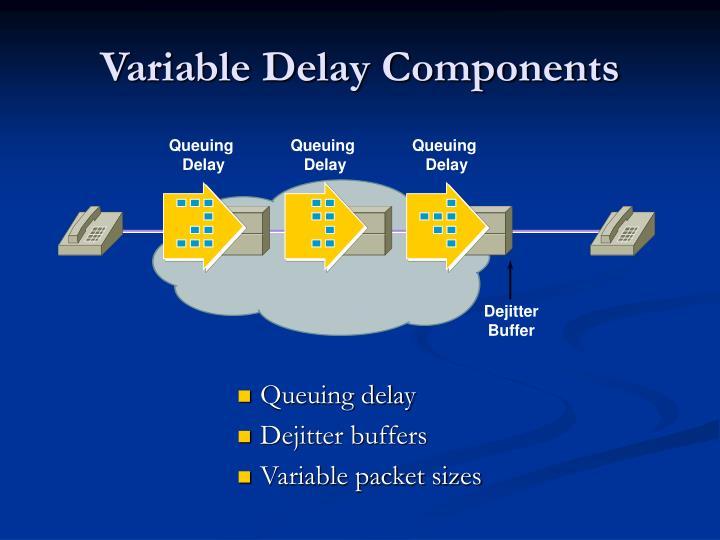 Variable Delay Components