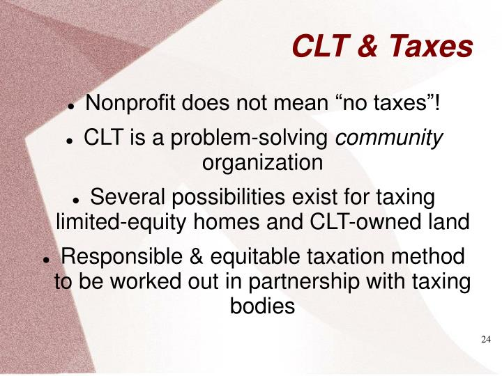 """Nonprofit does not mean """"no taxes""""!"""