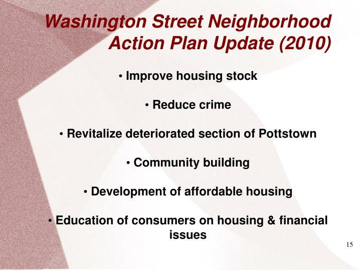 Washington Street Neighborhood