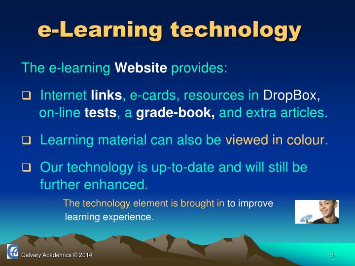 e-Learning technology