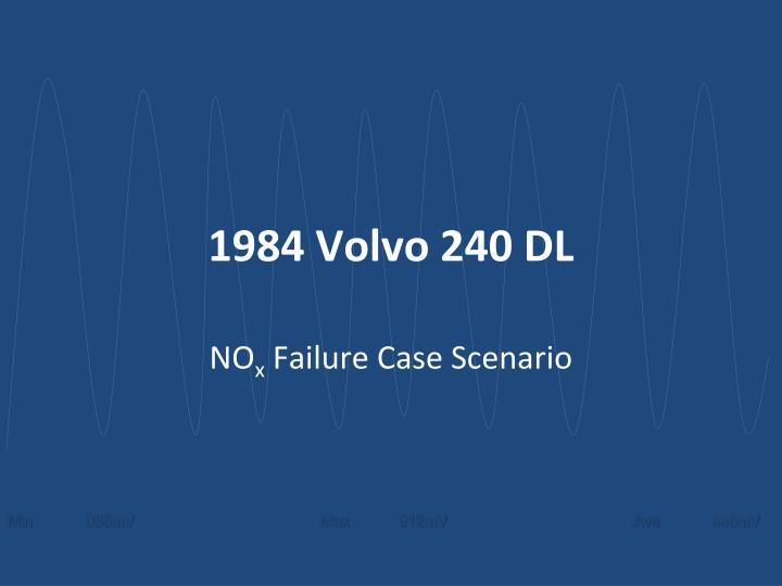 1984 Volvo 240 DL