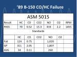 89 b 150 co hc failure6