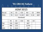 91 crx hc failure6
