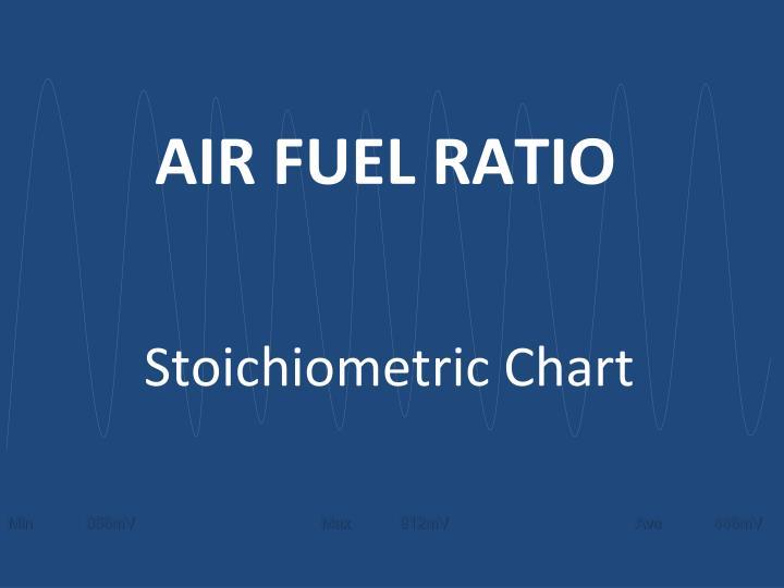 AIR FUEL RATIO