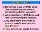 internet quiz1