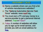 internet quiz2