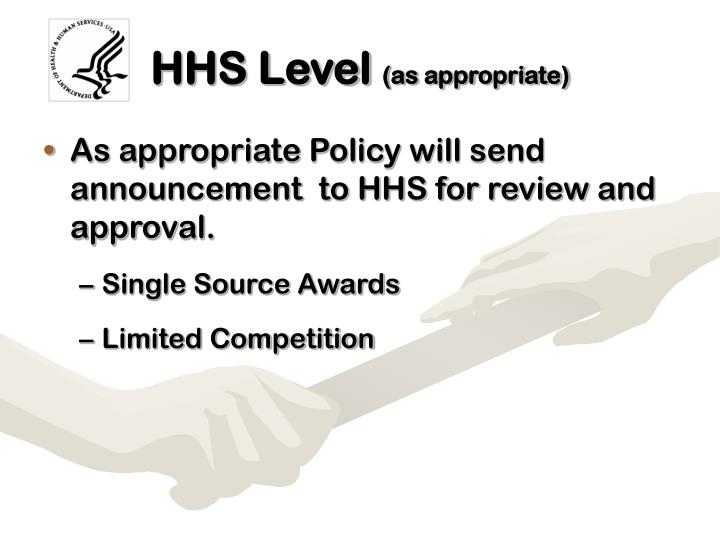 HHS Level