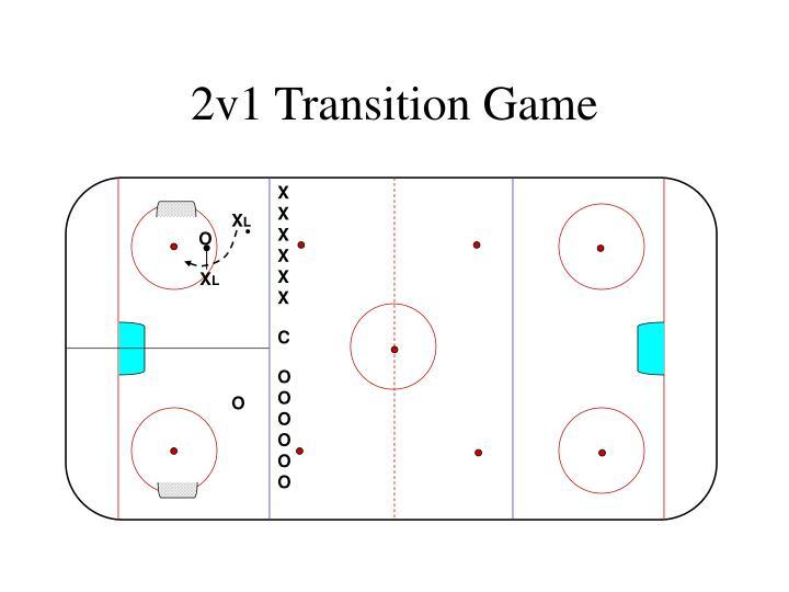 2v1 Transition Game