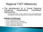 regional tvet milestones1