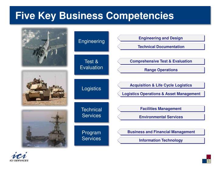Five Key Business Competencies