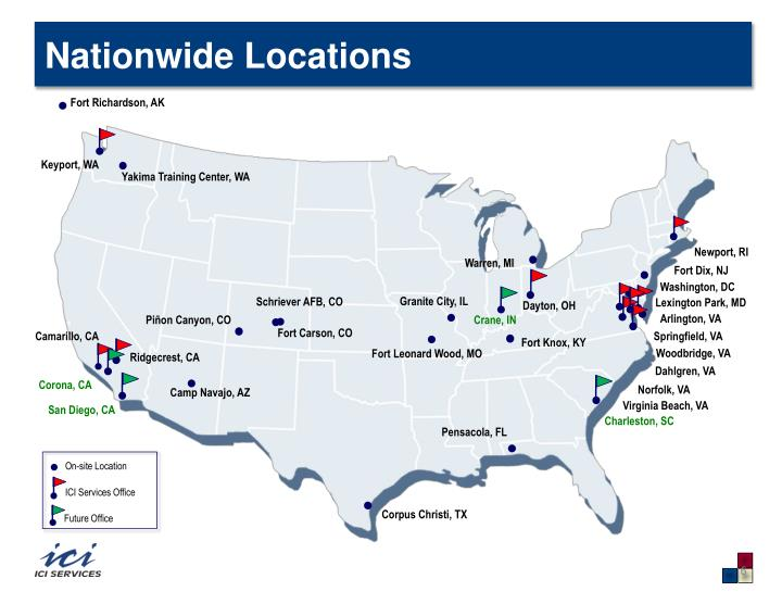 Nationwide Locations