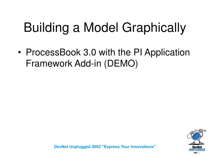 Building a Model Graphically