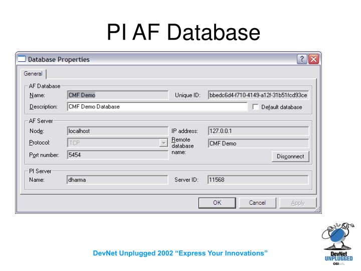 PI AF Database