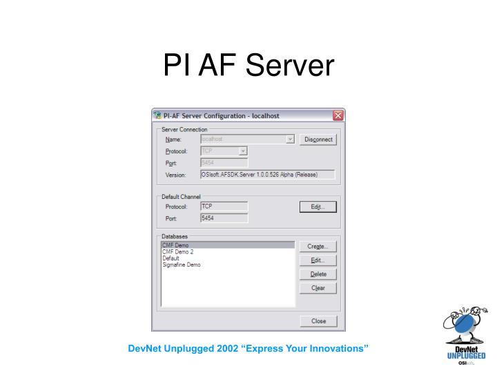 PI AF Server