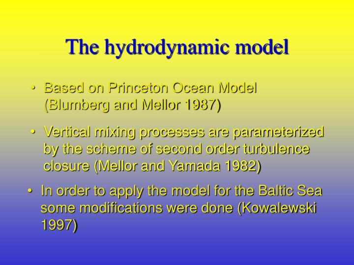 The hydrodynamic model