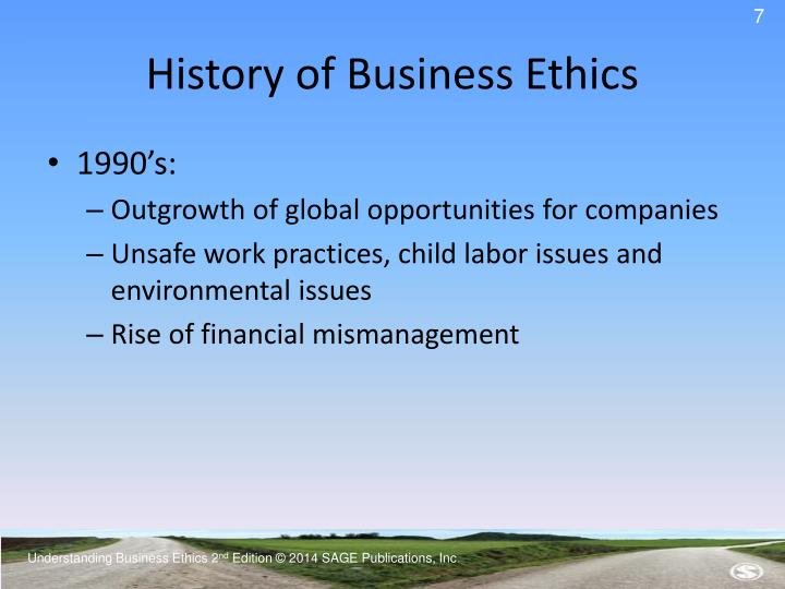 an understanding of business ethics Understanding business ethics 2ndnd edition © 2014 sage publications, inc chapter 12 establishing a code of ethics and ethical guidelines understanding business ethics.