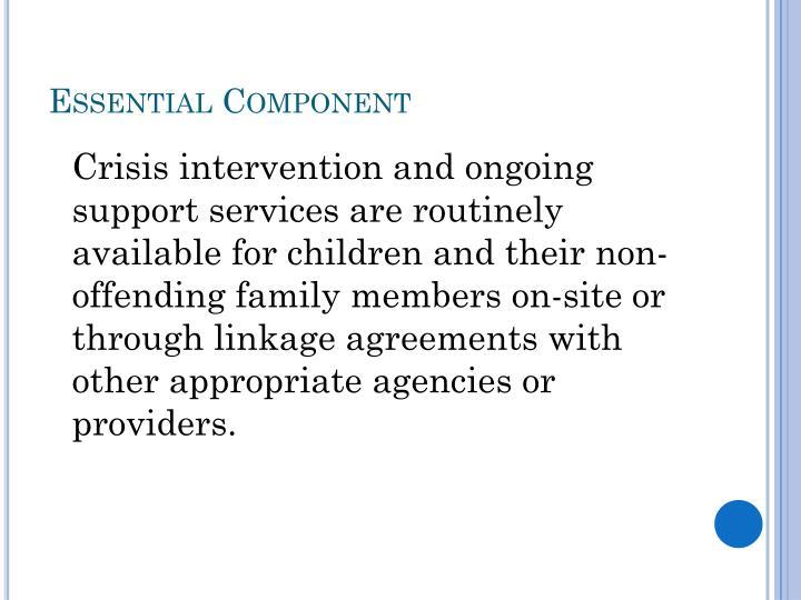 Essential Component