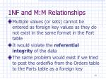 1nf and m m relationships5