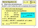 nernst equation 2