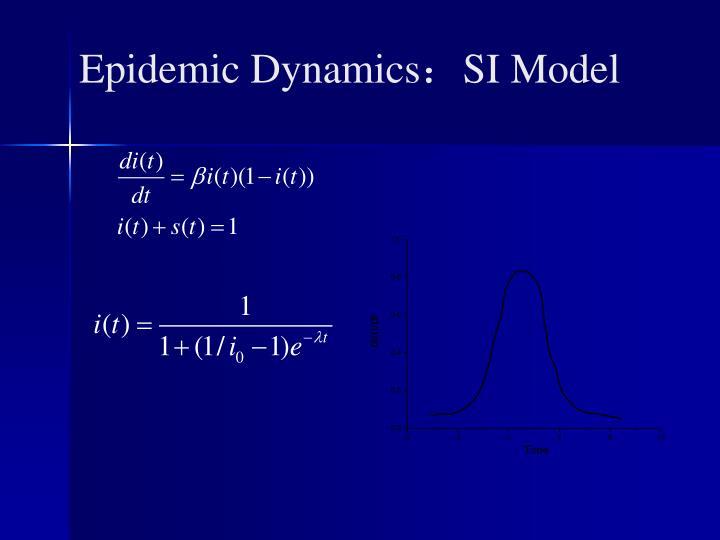 Epidemic Dynamics