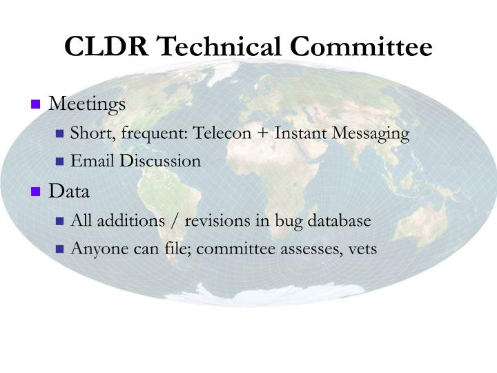CLDR Technical Committee