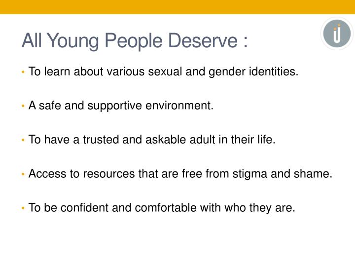All Young People Deserve :