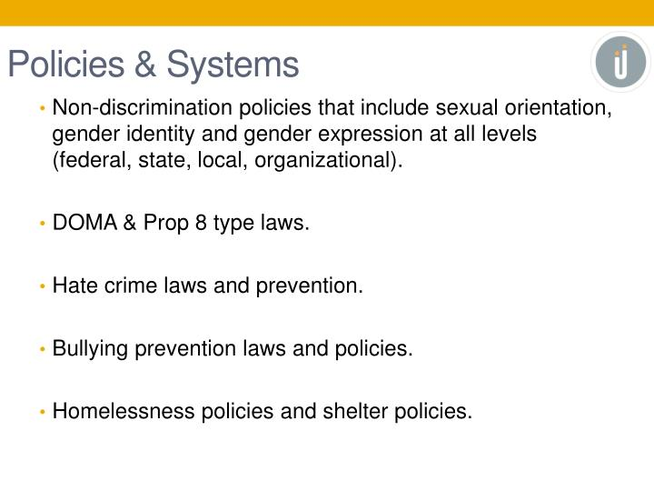Policies & Systems