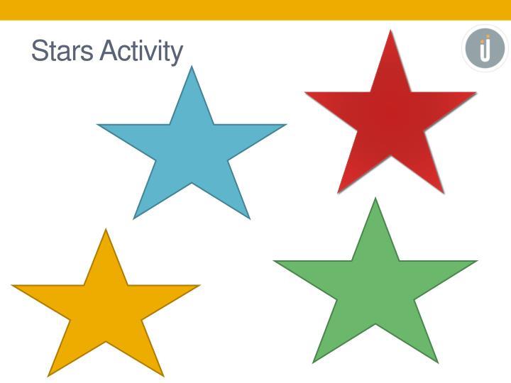 Stars Activity