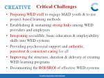 critical challenges