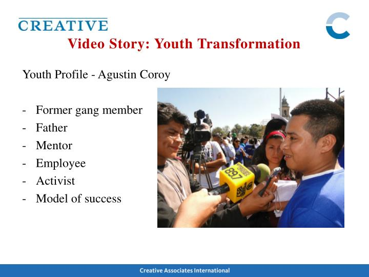 Video Story: Youth Transformation