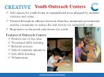 youth outreach centers