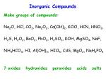 inorganic compounds6