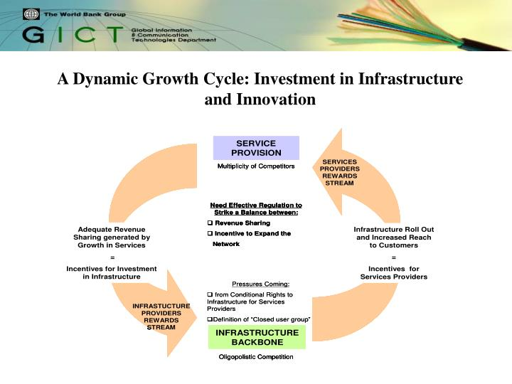 A Dynamic Growth Cycle: Investment in Infrastructure and Innovation