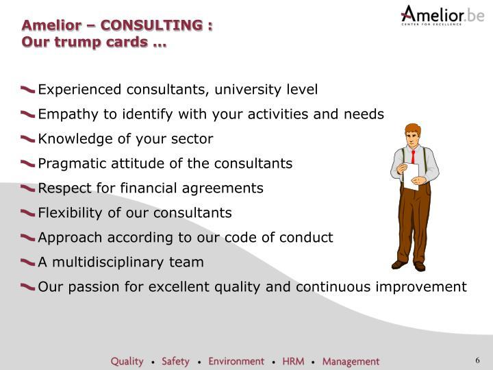 Amelior – CONSULTING :