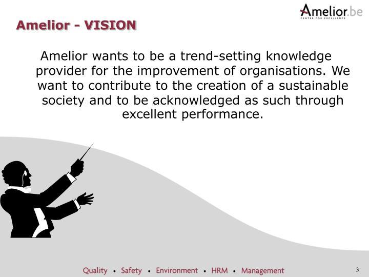 Amelior - VISION
