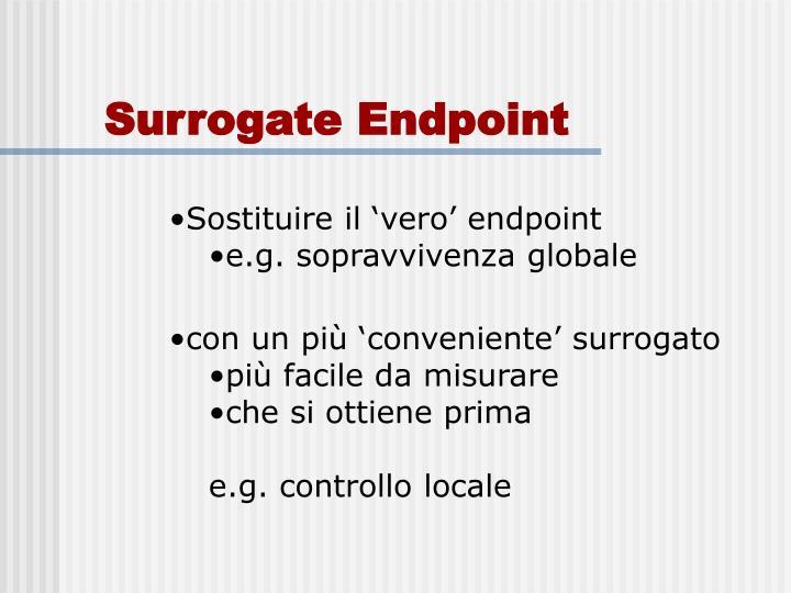 Surrogate Endpoint