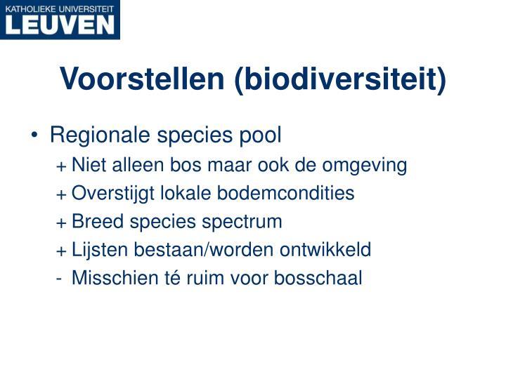 Voorstellen (biodiversiteit)