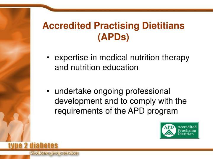 Accredited Practising Dietitians
