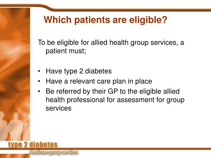 Which patients are eligible?