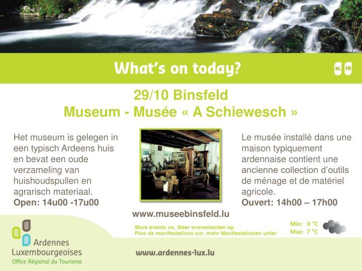 29/10 Binsfeld