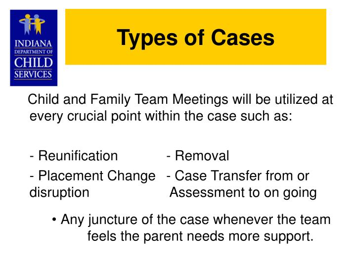 Types of Cases