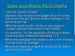 signs according to paulo coelho7