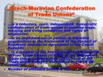 czech moravian confederation of trade unions