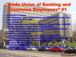 trade union of banking and insurance employees 1