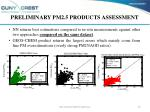 preliminary pm2 5 products assessment