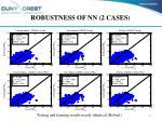 robustness of nn 2 cases